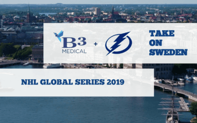 Recap: B3 & The Bolts in Sweden🇸🇪!   NHL Global Series 2019